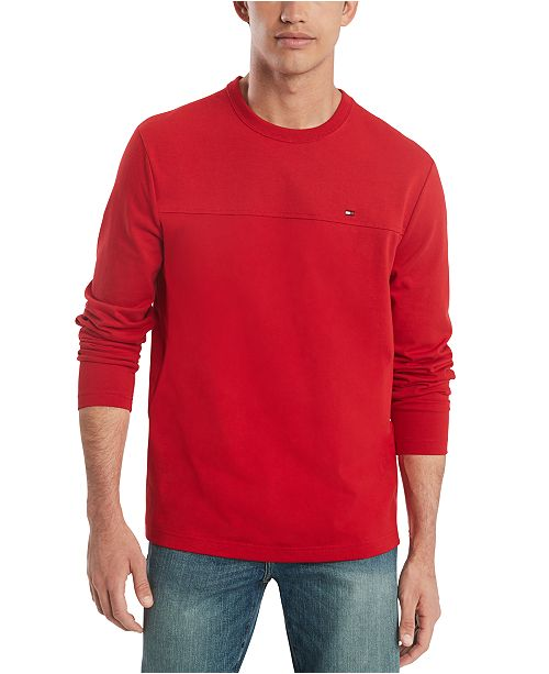 Tommy Hilfiger Men's Delancey Long Sleeve T-Shirt, Created for Macy's