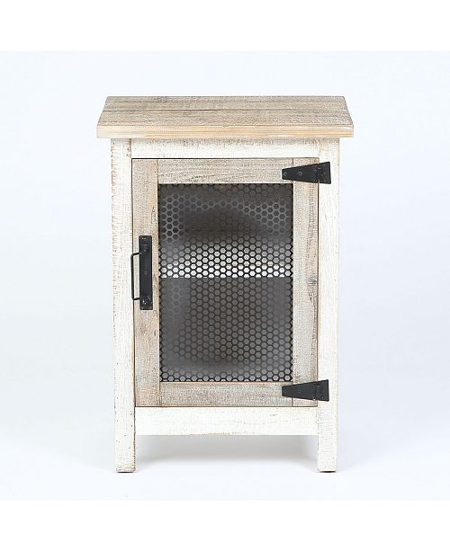 Luxen Home End Table with Storage