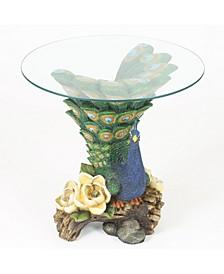Peacock Tea Table