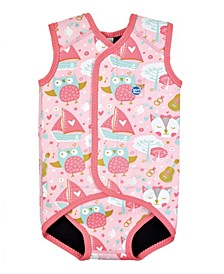 Toddler Girl's Wrap Wetsuit