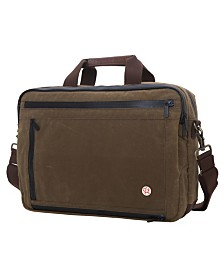 Token Waxed Briefcase