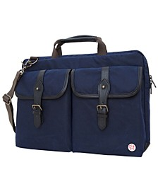 "Waxed Knickerbocker 15"" Laptop Bag"
