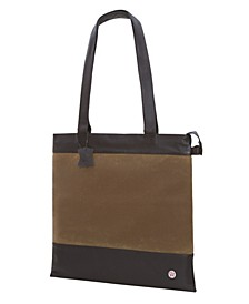 Waxed Graham Medium Tote Bag