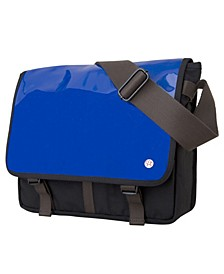 Metropolitan Medium Enamel DJ Bag