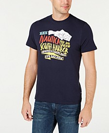 Men's Big and Tall South Harbor Cotton Graphic T-Shirt, Created for Macy's