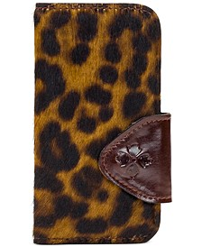 Brenna Calf Hair Leopard iPhone X Case