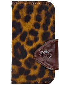 Patricia Nash Brenna Calf Hair Leopard iPhone X Case