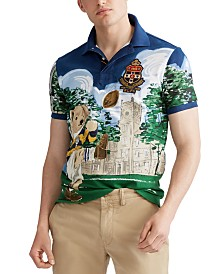 Polo Ralph Lauren Men's Custom Slim Fit Bear Polo