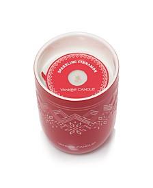 Holiday Novelty Ceramic Candle