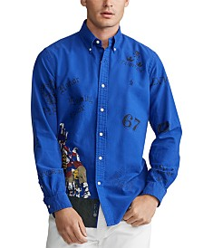 Polo Ralph Lauren Men's Classic-Fit Rugby Scrimmage Oxford Shirt