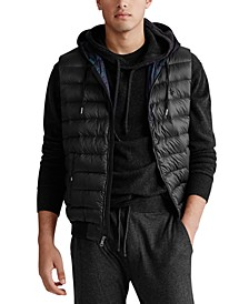 Men's Double-Knit Hooded Vest