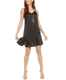 Bar III V-Neck Slip Dress, Created for Macy's