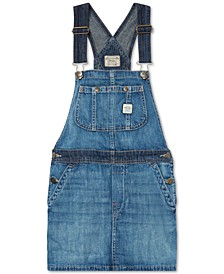 Big Girls Overall Denim Dress