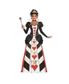 Amscan Red Queen Adult Women's Costume