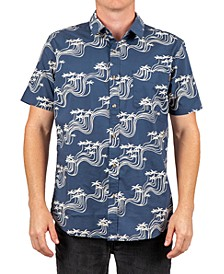 Men's Ballena Patterned Short Sleeve Shirt