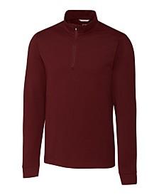 Cutter and Buck Men's Big and Tall Advantage Zip Mock Sweatshirt