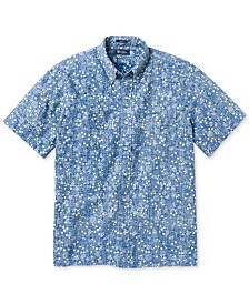 Reyn Spooner Men's Orange Tree Breeze Shirt