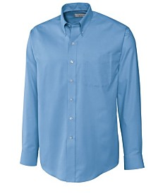 Cutter and Buck Men's Big and Tall Long Sleeves Epic Easy Care Nailshead Shirt