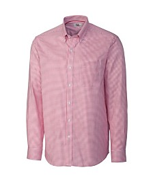 Cutter and Buck Men's Big and Tall Long Sleeves Epic Easy Care Tattersall Shirt