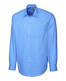 Cutter and Buck Men's Big and Tall Long Sleeves Epic Easy Care Spread Nailshead Shirt