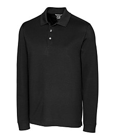 Cutter and Buck Men's Big and Tall Advantage Long Sleeves Polo