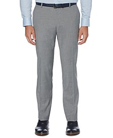 Men's Portfolio Slim-Fit Stretch Check Dress Pants
