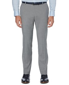 Perry Ellis Men's Portfolio Slim-Fit Stretch Check Dress Pants