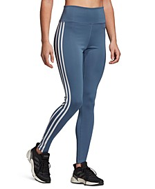 Women's Design 2 Move 3-Stripe High-Rise Leggings