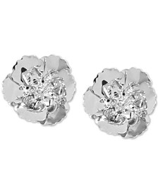 18k Gold-Plated Poppy Stud Earrings