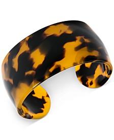 Wide Acetate Cuff Bracelet