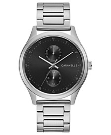 Men's Stainless Steel Bracelet Watch 41mm