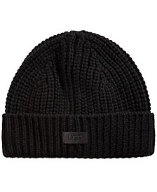 Men's Ribbed-Knit Cuffed Hat