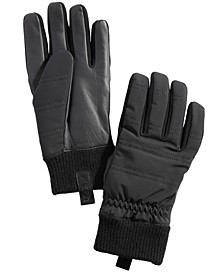 Men's Quilted All-Weather Gloves