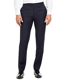 Men's Slim-Fit Stretch Navy Tuxedo Suit Separate Pants