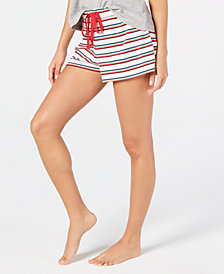 Jenni Printed Sleep Shorts, Created for Macy's