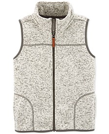 Little & Big Boys Fleece Zip-Up Vest