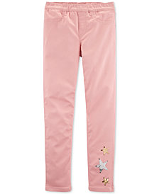 Carter's Little & Big Girls Stars Pull-On Twill Jeggings