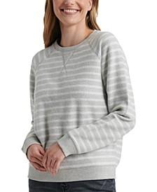 Striped Brushed Sweatshirt
