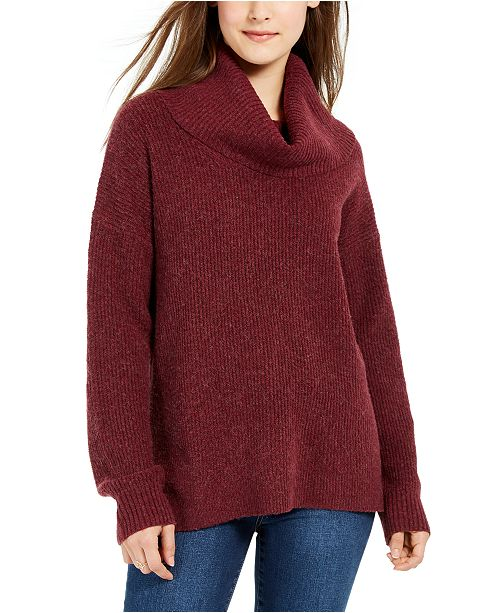 Hippie Rose Juniors' Turtleneck Sweater