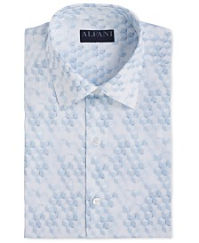 Assorted AlfaTech by Alfani Men's Athletic Fit Print Dress Shirts, Created for Macy's