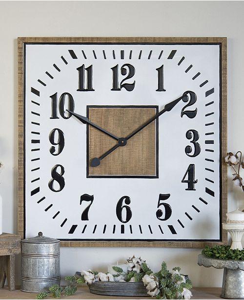 VIP Home & Garden Square Clock