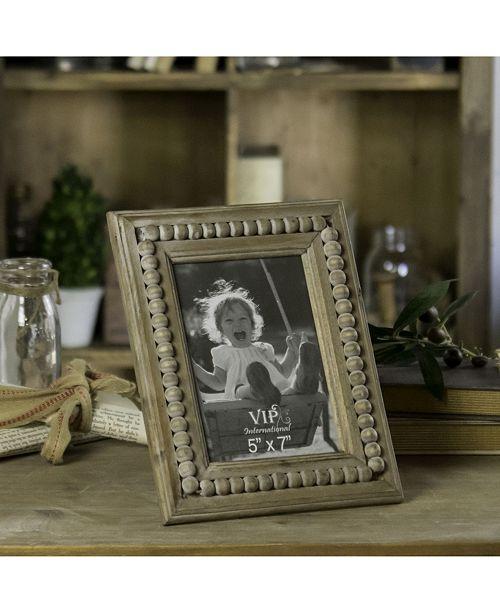"VIP Home & Garden 5"" x 7"" Wood Rectangular Photo Frame"