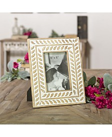 """VIP Home & Garden 4"""" X 6"""" Multi Wood Picture Frame"""