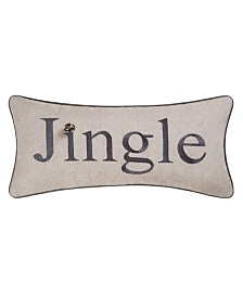 C&F Home Jingle Embroidered Pillow