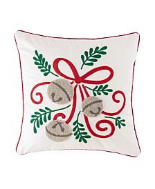C&F Home Jingle Bow Pillow