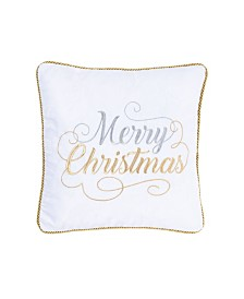 C&F Home Merry Christmas Holiday Pillow