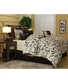 Buna 7-Pc. Taupe Full Comforter Sets