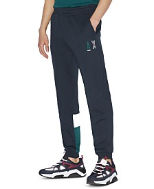 A|X Armani Exchange Men's Colorblocked Track Pants