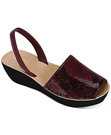 Kenenth Cole Reaction Women's Fine Glass Wedge Sandals