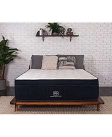 "Abbey 14"" Firm Euro Pillow Top Mattress- Queen, Mattress in a Box"